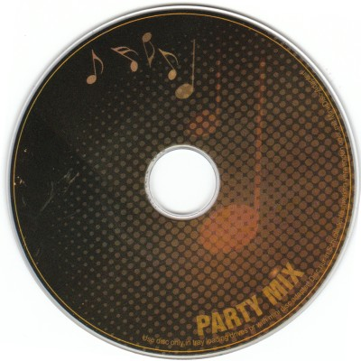 Rock Party CD-R Layout